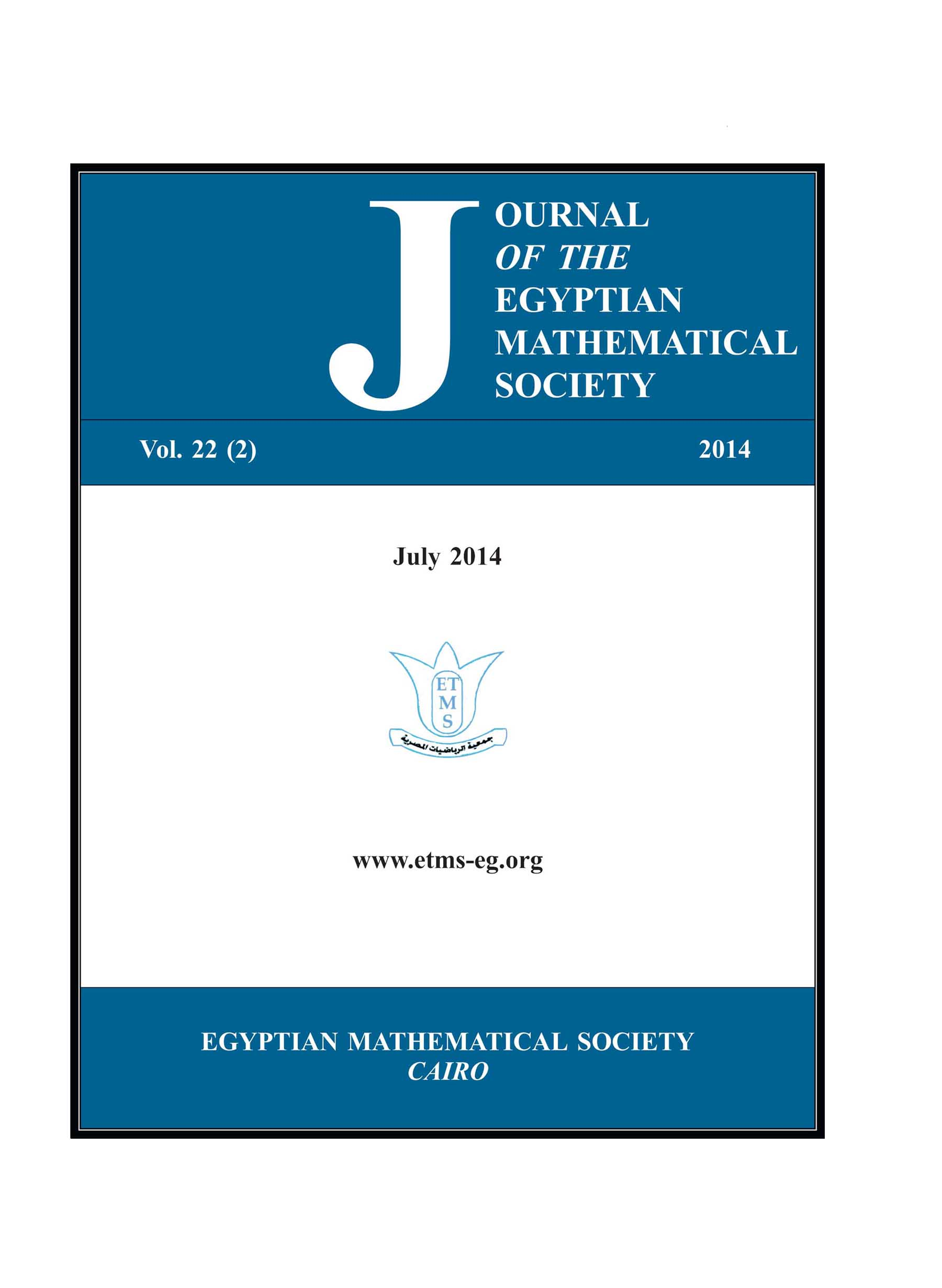 Journal of the Egyptian Mathematical Society